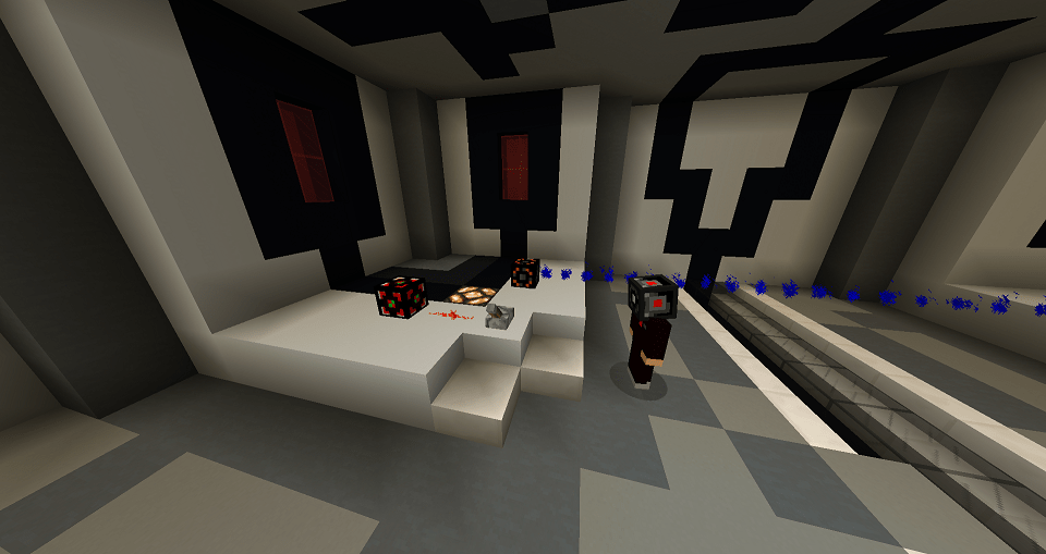 redstone sensor activated